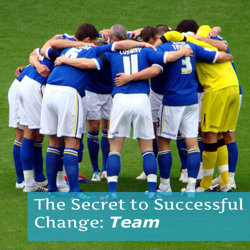 The Secret to Successful Change: Team