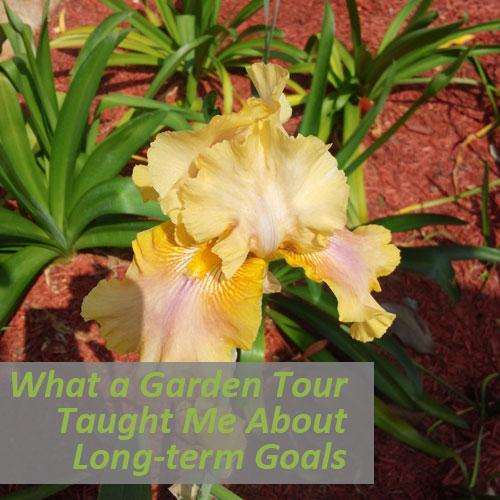 What a Garden Tour Taught Me About Long-term Goals